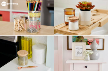 Reusing Yogurt Jars
