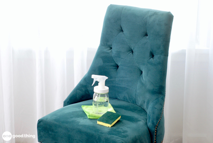 How To Clean A Microfiber Couch Other Furniture One Good