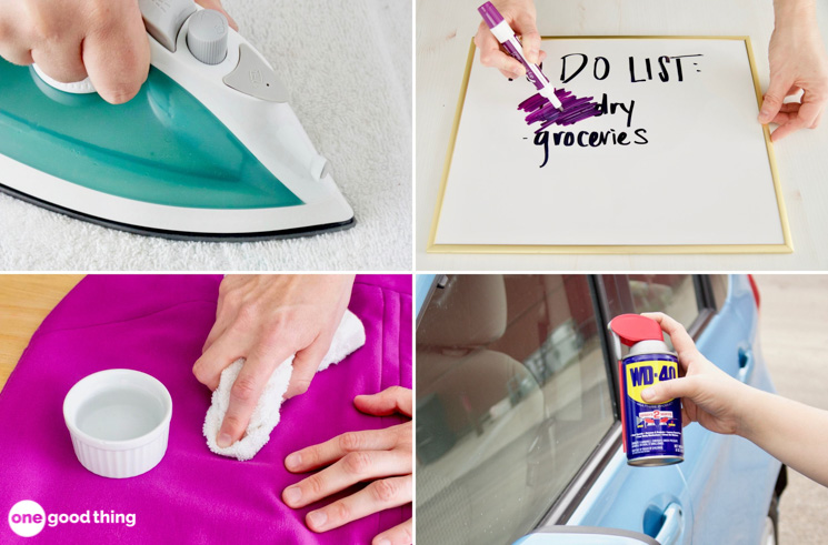 How To Remove Permanent Marker From Anything