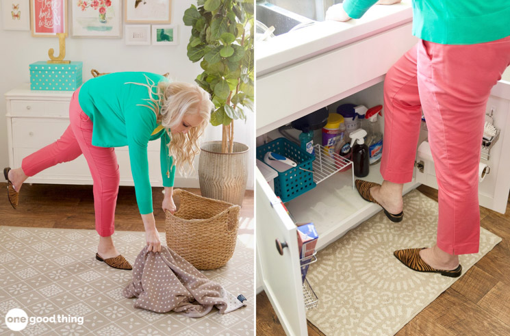 Make Cleaning Less Painful