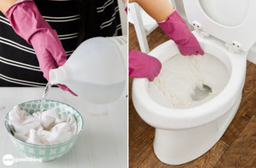 toilet cleaning hack