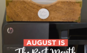 Things to stock up on in august