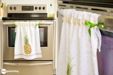 Simple Hanging Dish Towel