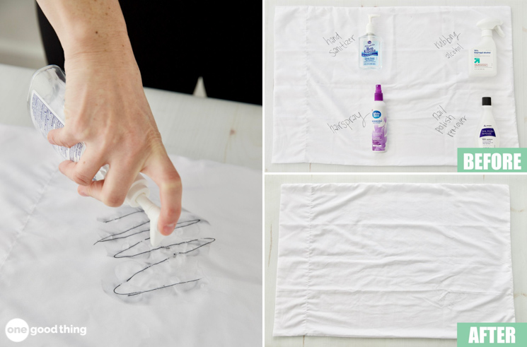 How To Remove Ink Stains From Clothes One Good Thing By Jillee