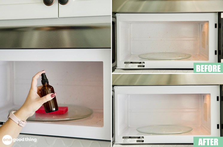 How To Clean A Microwave With And