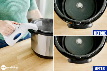 instant pot cleaning hack