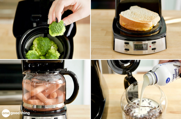 uses for your coffee maker