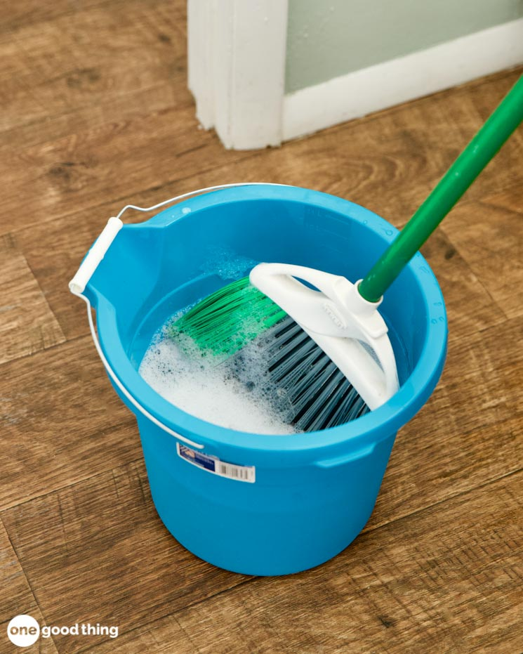 clean your cleaning tools