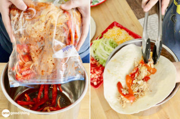 Easy Chicken Fajita Freezer Meal
